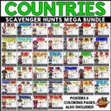 Countries Scavenger Hunt Mega Bundle