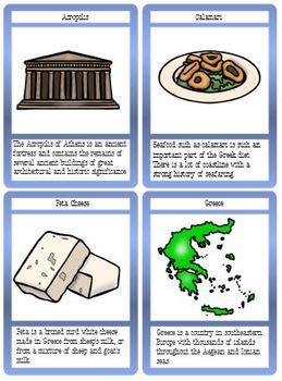 Countries Flashcard Set #5