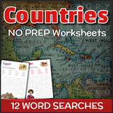 Countries (Word Searches)