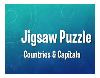 Spanish-Speaking Countries and Capitals Jigsaw Puzzles