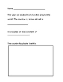 Countries around the world doc