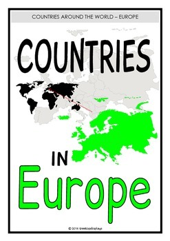 Countries in Europe