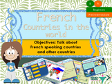 French countries in the world, la francophonie PPT for beginners