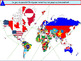 Countries in the World in French, la francophonie beginner