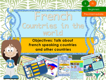 French countries in the world, la francophonie full lesson
