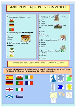 French countries in the world, la francophonie booklet for beginners
