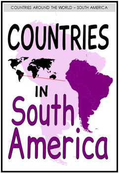Countries in their Continents (BUNDLE PACK)