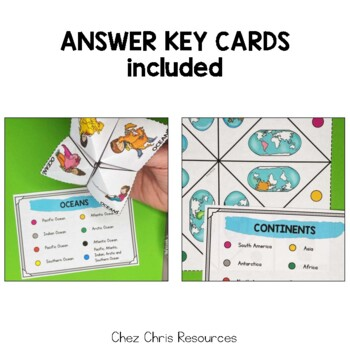 Countries- nationalities - symbols cootie catchers / Fortune Teller