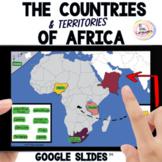 AFRICA Interactive Map Activities