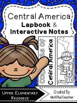 Countries of Central America Lapbook