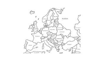Countries of Europe Activity