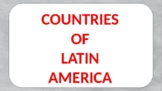 Countries of Latin America