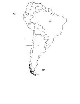 Countries of Latin America Crossword Puzzle