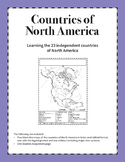 Countries of North America