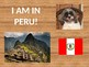 Countries of South America Map Review PowerPoint Template
