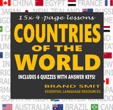 Countries of the World: 15 Lessons Bundle