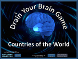 Countries of the World - A PowerPoint Drain Your Brain Game