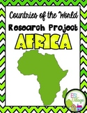 Countries of the World   Africa {Research Project}