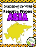 Countries of the World | Asia {Research Project}