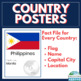 Countries of the World BUNDLE: 193 countries, flags, capital cities & locations