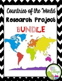 Countries of the World   BUNDLE {Research Project}