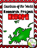 Countries of the World | Europe {Research Project}