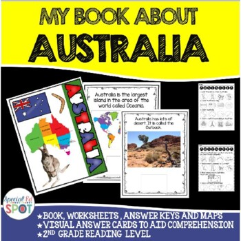 Countries of the World: My Book About AUSTRALIA * SPECIAL EDUCATION*