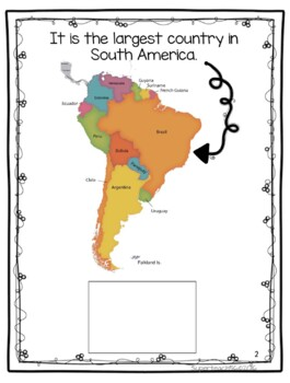 Countries of the World: My Book About BRAZIL * SPECIAL EDUCATION*