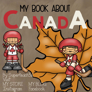Countries of the World: My Book About CANADA * SPECIAL EDUCATION*