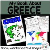 Countries of the World: My Book About GREECE * SPECIAL EDUCATION*