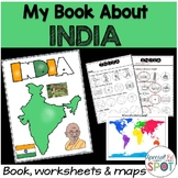 Countries of the World: My Book About INDIA * SPECIAL EDUCATION*
