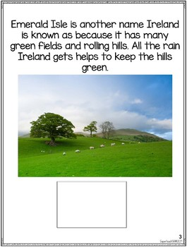Countries of the World: My Book About IRELAND * SPECIAL EDUCATION*