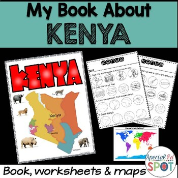 Countries of the World: My Book About KENYA * SPECIAL EDUCATION*