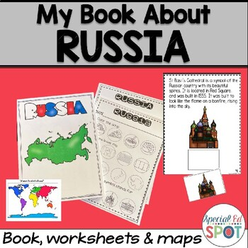 Countries of the World: My Book About RUSSIA * SPECIAL EDUCATION*