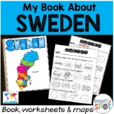 Countries of the World: My Book About SWEDEN * SPECIAL EDUCATION*