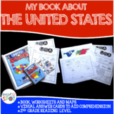 Countries of the World: My Book About UNITED STATES* SPECIAL EDUCATION*