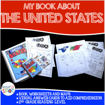 Countries of the World: My Book About UNITED STATES* SPECI