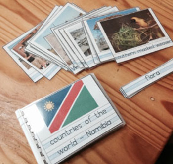 Countries of the World - Namibia (discussion cards)