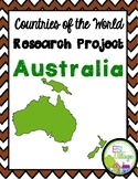 Countries of the World   Australia {Research Project}