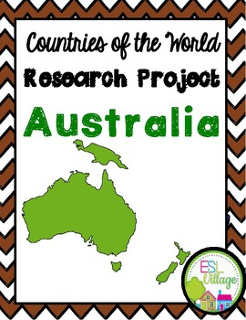 Countries of the World | Oceania {Research Project}