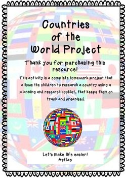 Countries of the World Project