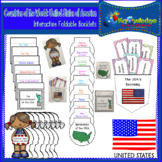 Countries of the World: United States of America Interactive Foldable Booklets