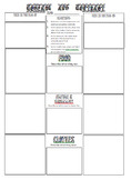 Countries/Cultures: Compare and Contrast Graphic Organizer