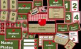 Country Apple Decor Bundle (Editable)