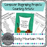 Country Artist Biography Project
