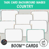 Country Backgrounds for digital task cards - Boom Cards™