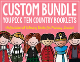Country Booklets CUSTOM BUNDLE! (10 Booklets)