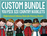 Country Booklets CUSTOM BUNDLE! (6  Booklets)