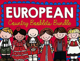 Country Booklets EUROPEAN BUNDLE!