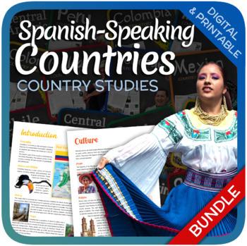 Country Studies Bundle (Spanish Speaking Country Studies)